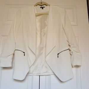 Womens White Blazer